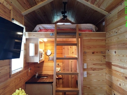 Tiny House Rental Waco or Temple TX