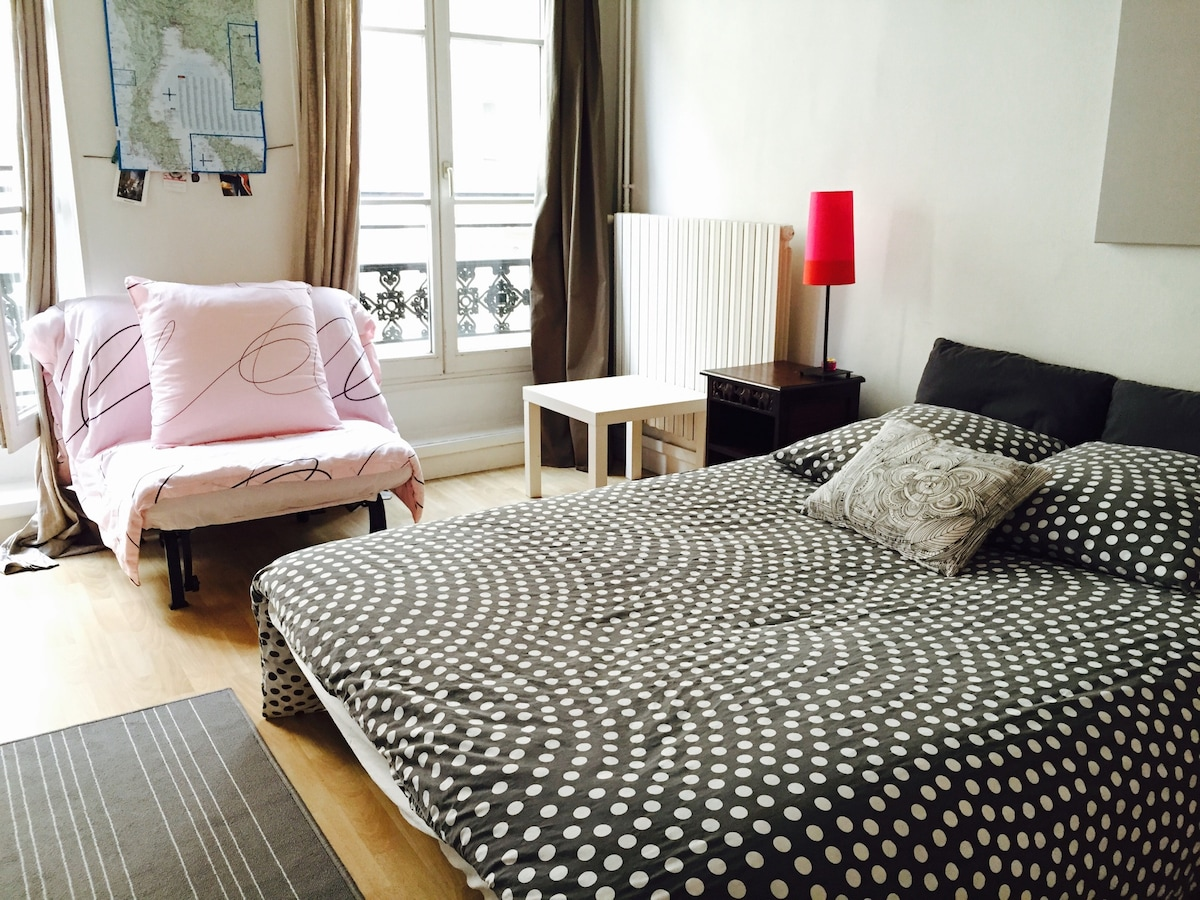 Cute flat 5min from Montmartre