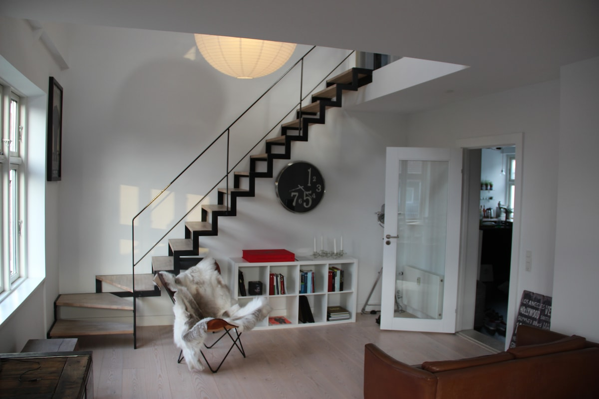 135 m2 two story penthouse
