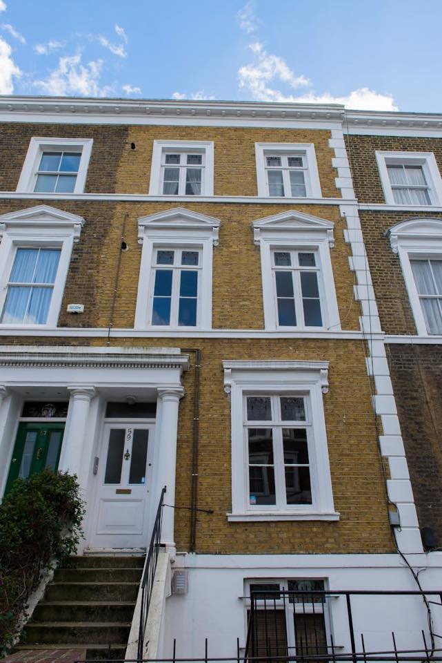 London central apartment for 5 pers