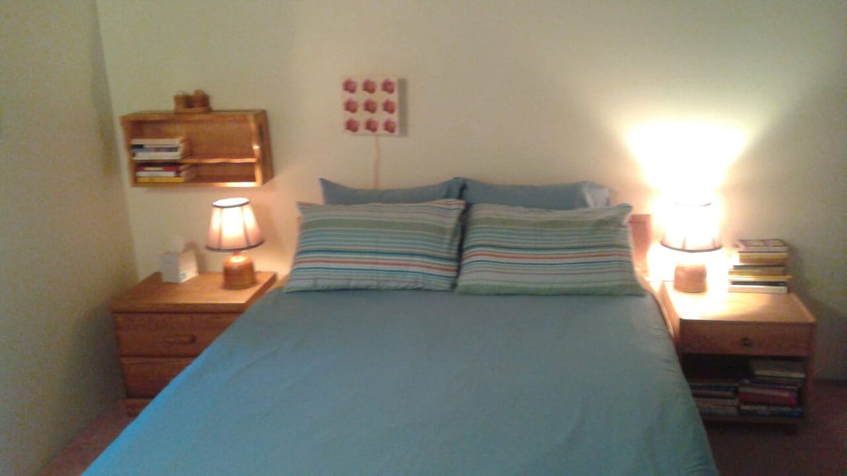 Comfortable, clean & spacious room.