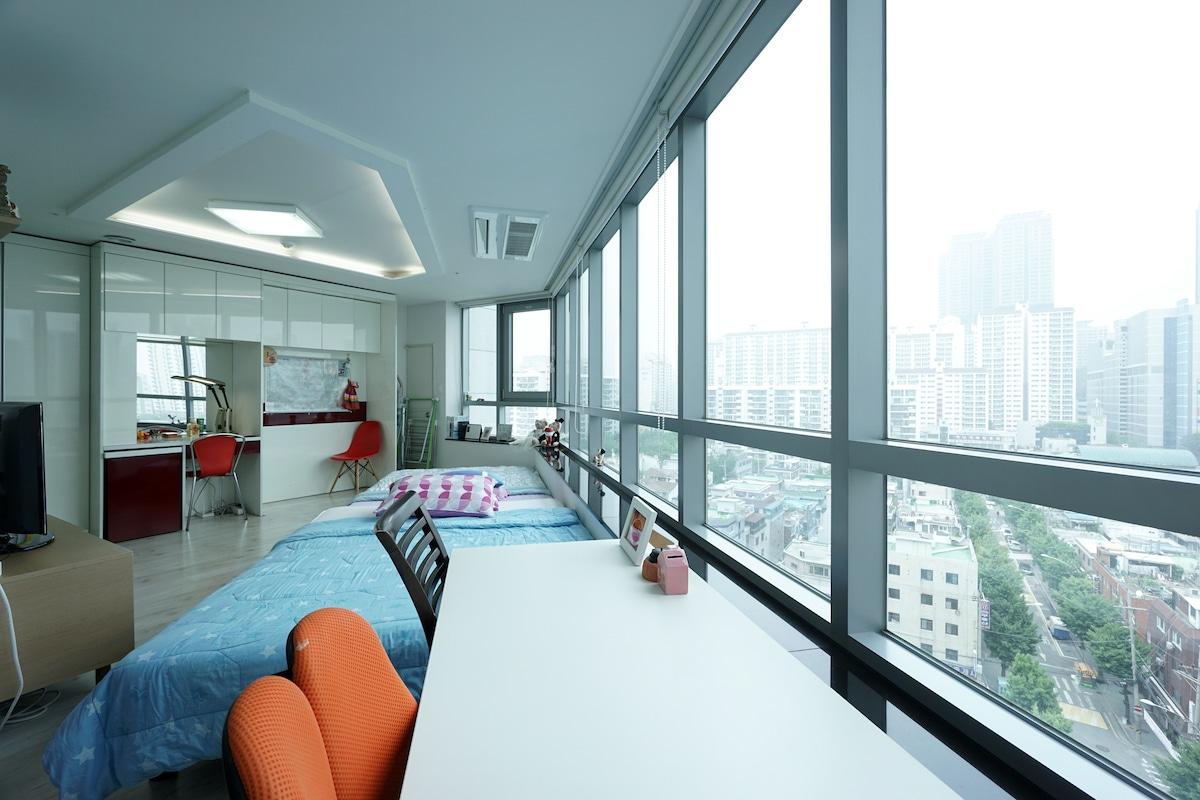 Amazing View, Cozy 1BD Studio