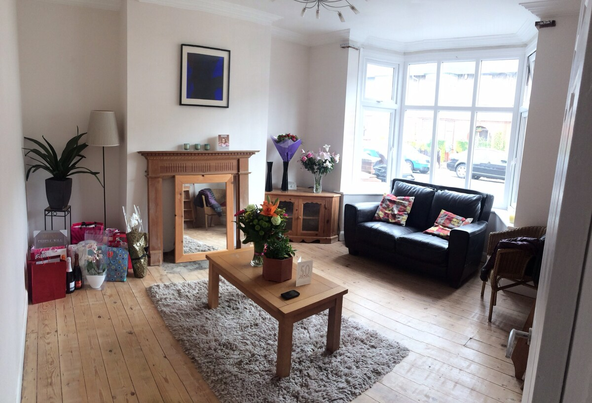 Newly refurb house perfect location