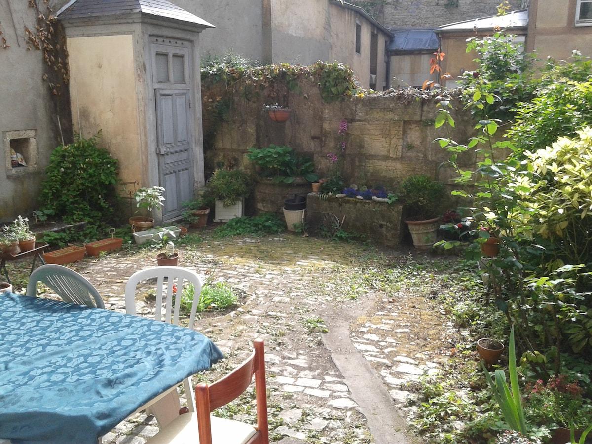 Appart et jardin privé centre ville