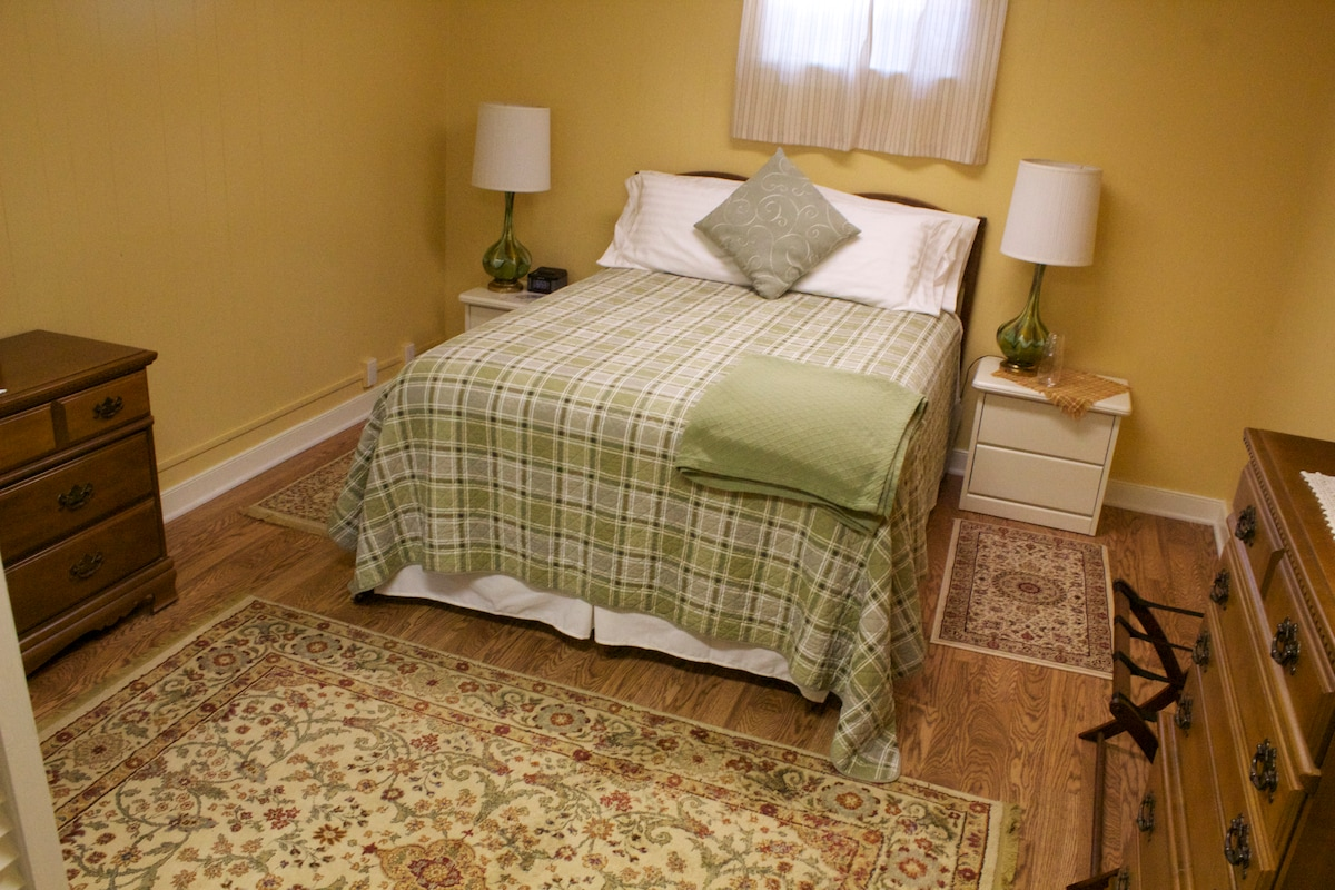 Spacious, private bedroom with Queen-sized pillow-top bed - oh, so comfy.