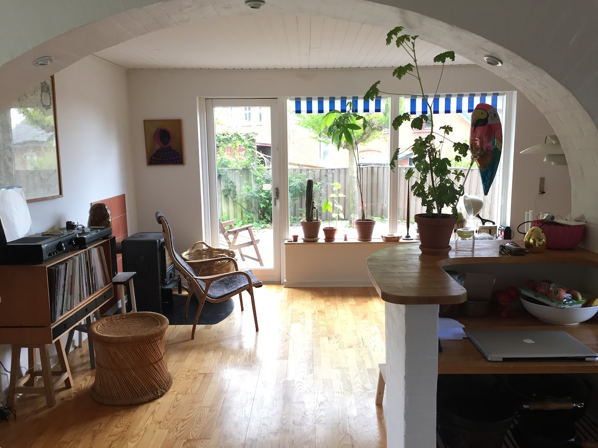 Hyggeligt hus m/ udsigt over Svendb