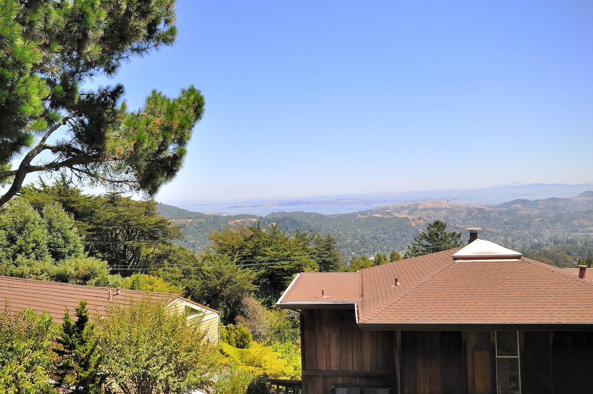View of East Bay from the property