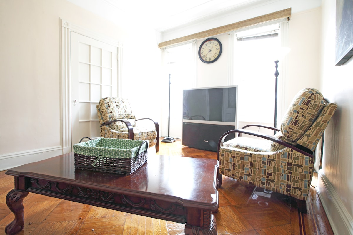 Four bedroom brownstone with 2 bath