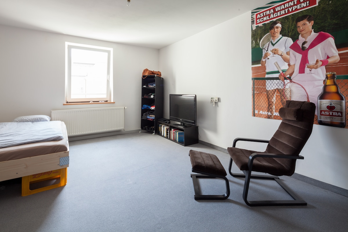 Perfekt gelegenes Zimmer in München