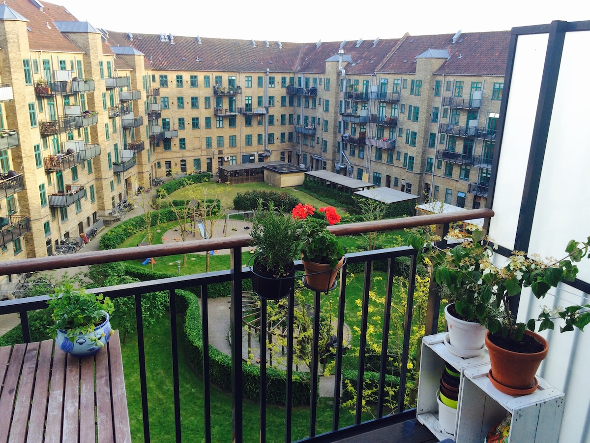 Cosy apartment 2-4 pers - Balcony