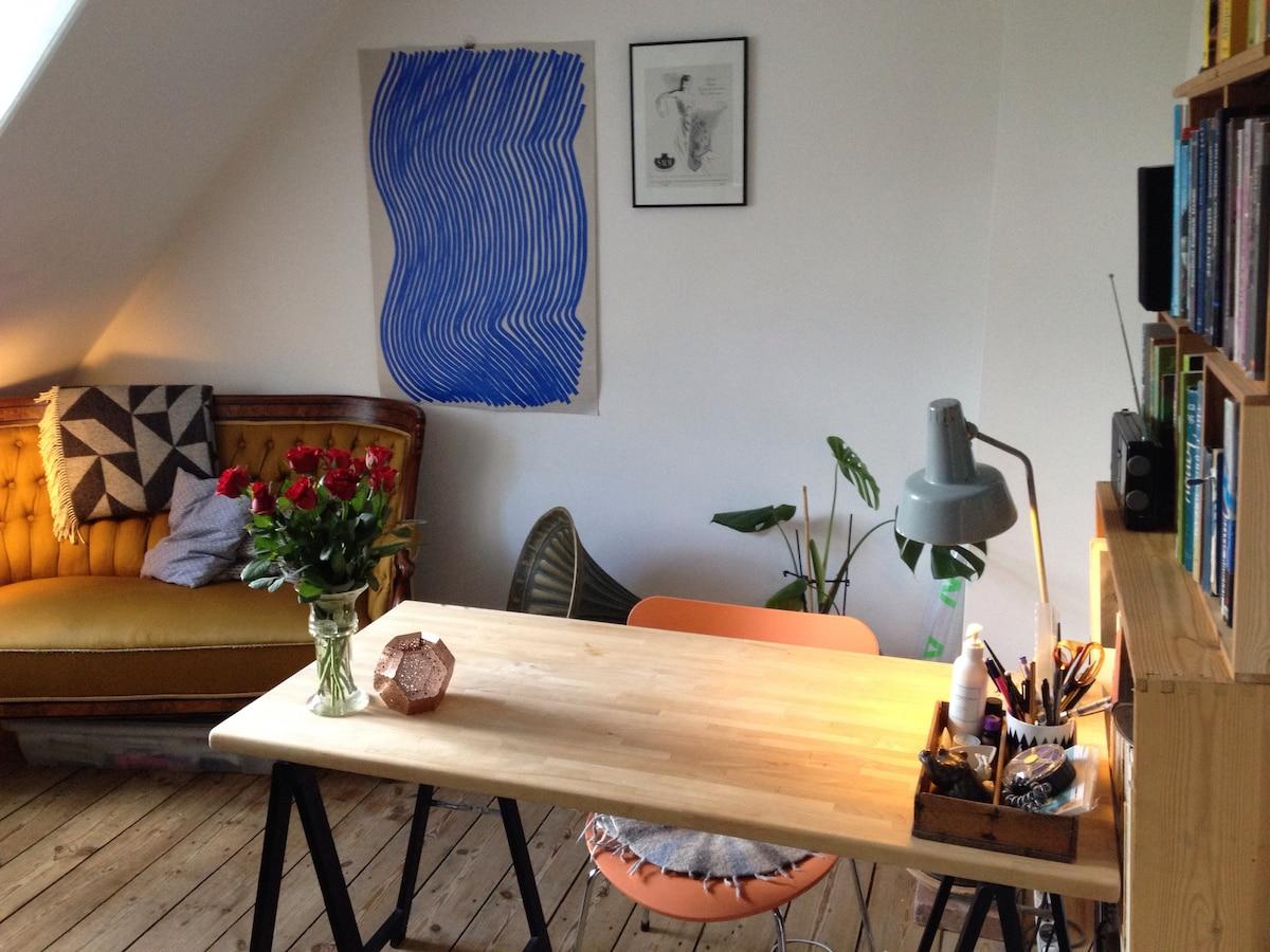 Cozy mini apartment, close to metro