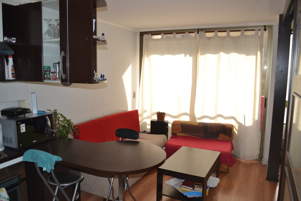 apartment in the center of Santiago