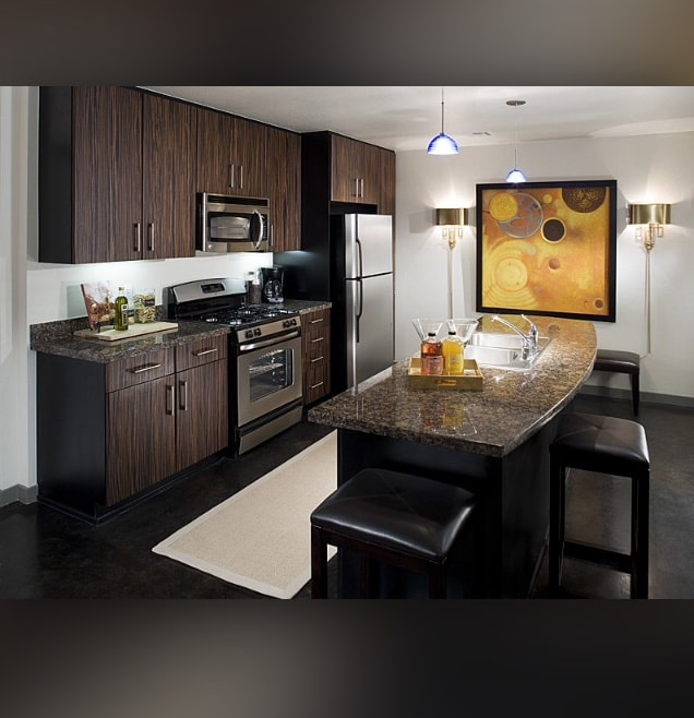 luxury appartment in west hollywood