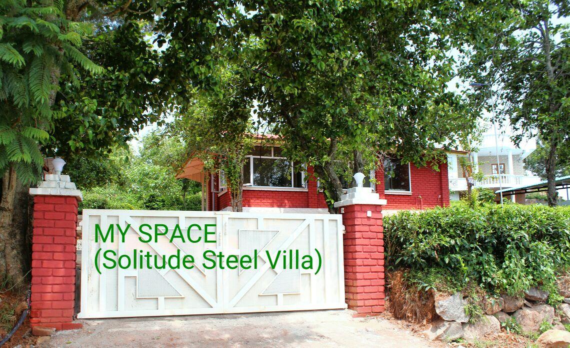 MY SPACE -Solitude Steel Villa