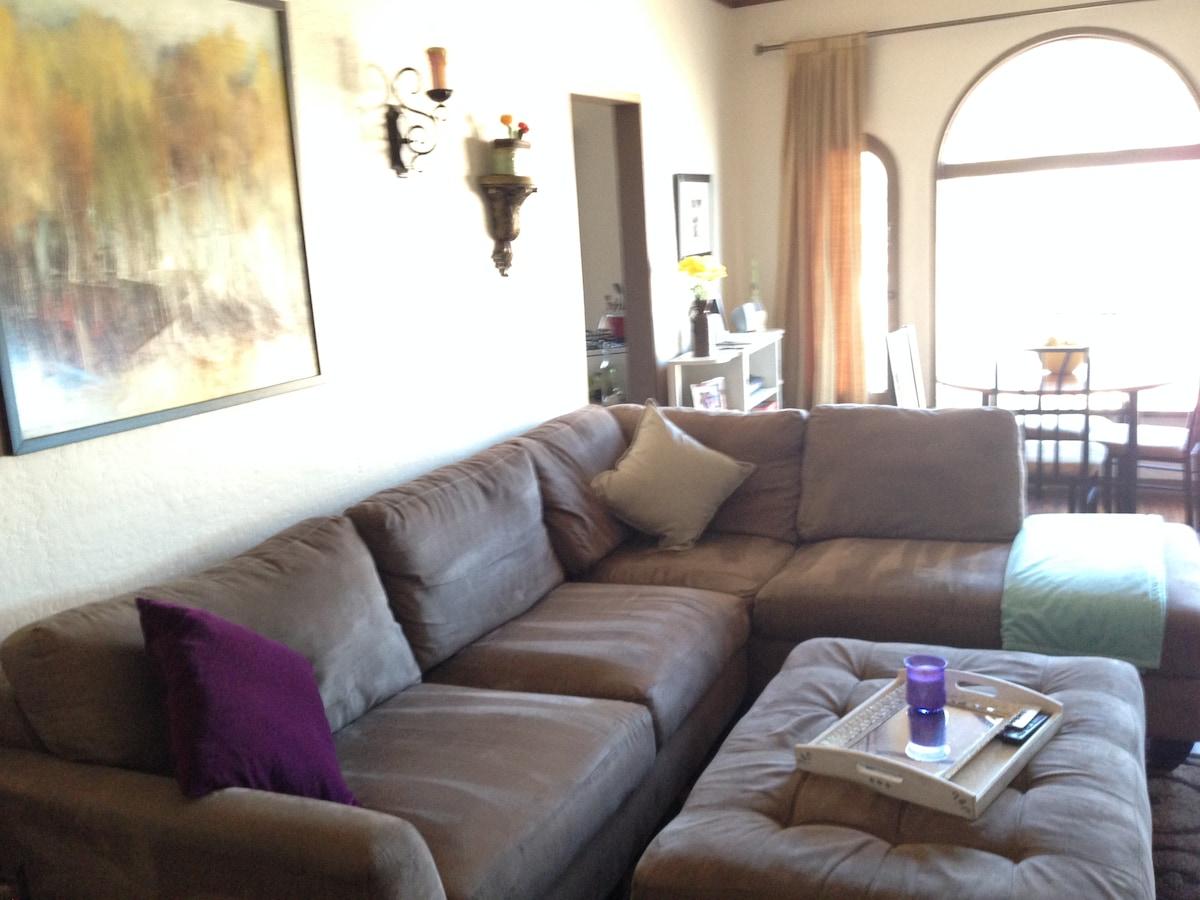 One Bedroom Spanish-Style Apartment