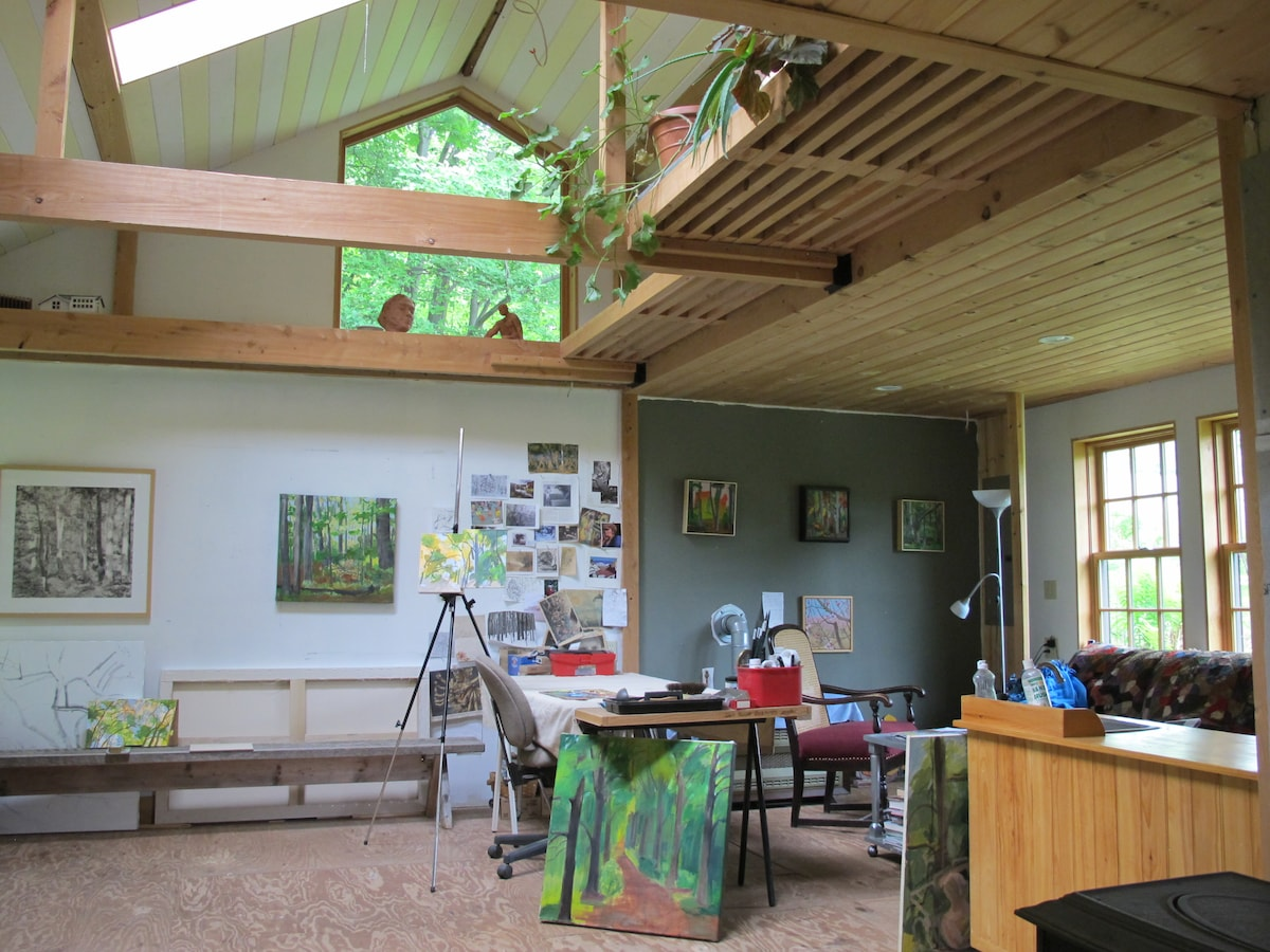 Catskills Forest Artists Studio