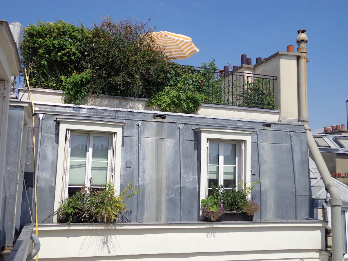 ♥Lov' Rooftop - EIFFEL TOWER VIEW♥
