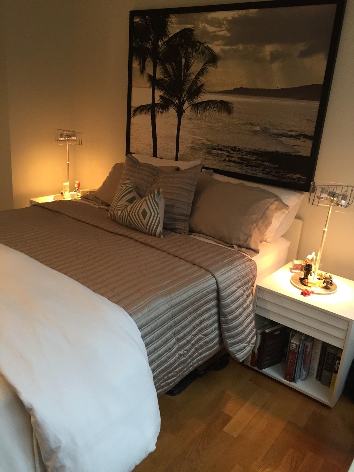 Gorgeous,luxurious one bedroom apt