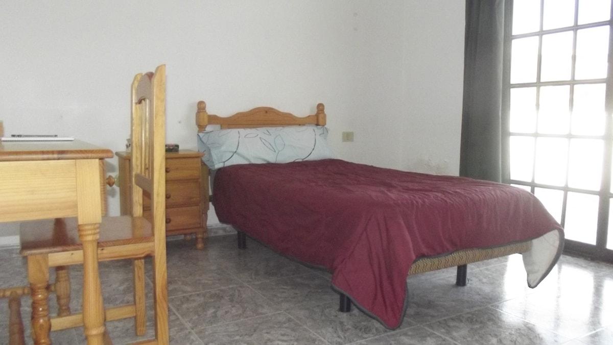 Single room with terrace La Laguna