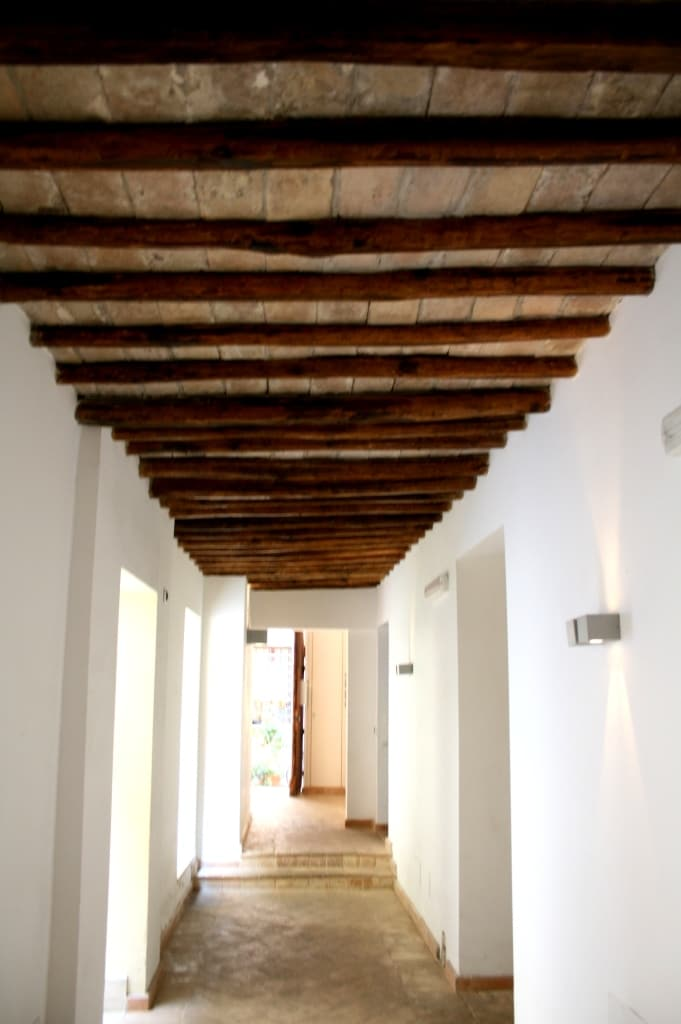 ...walk along a hallway of the Middle Ages