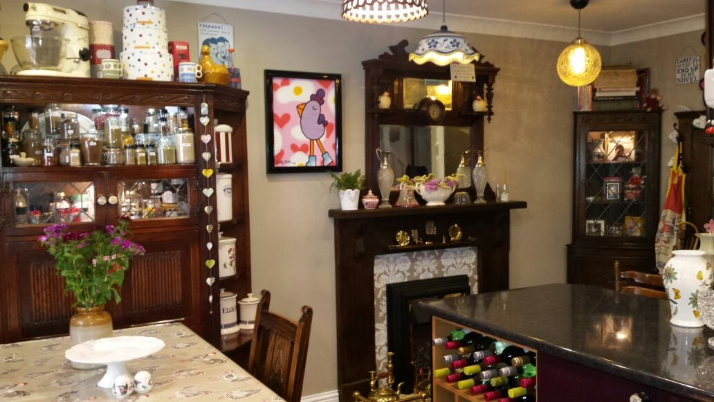 Quirky retro town house in Daventry