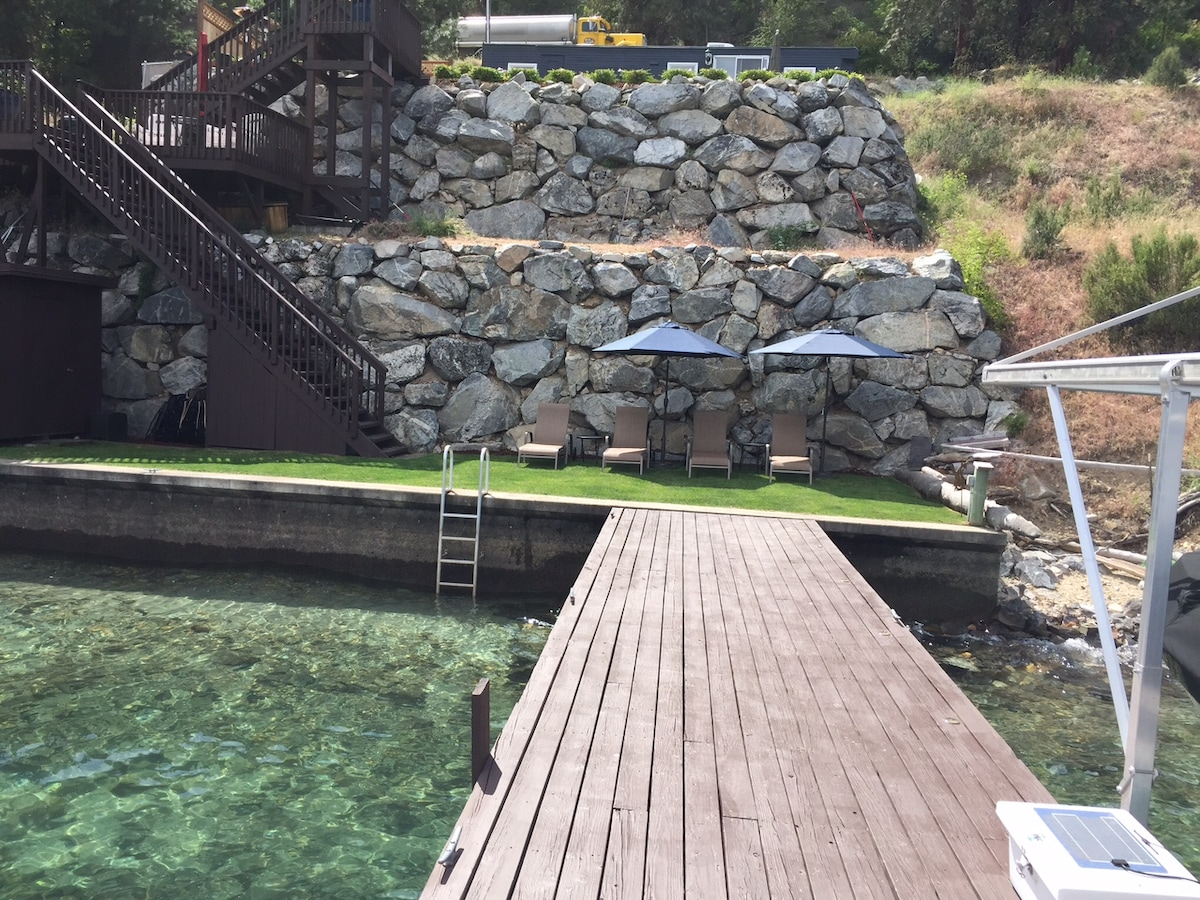 70' of Lake Chelan waterfront