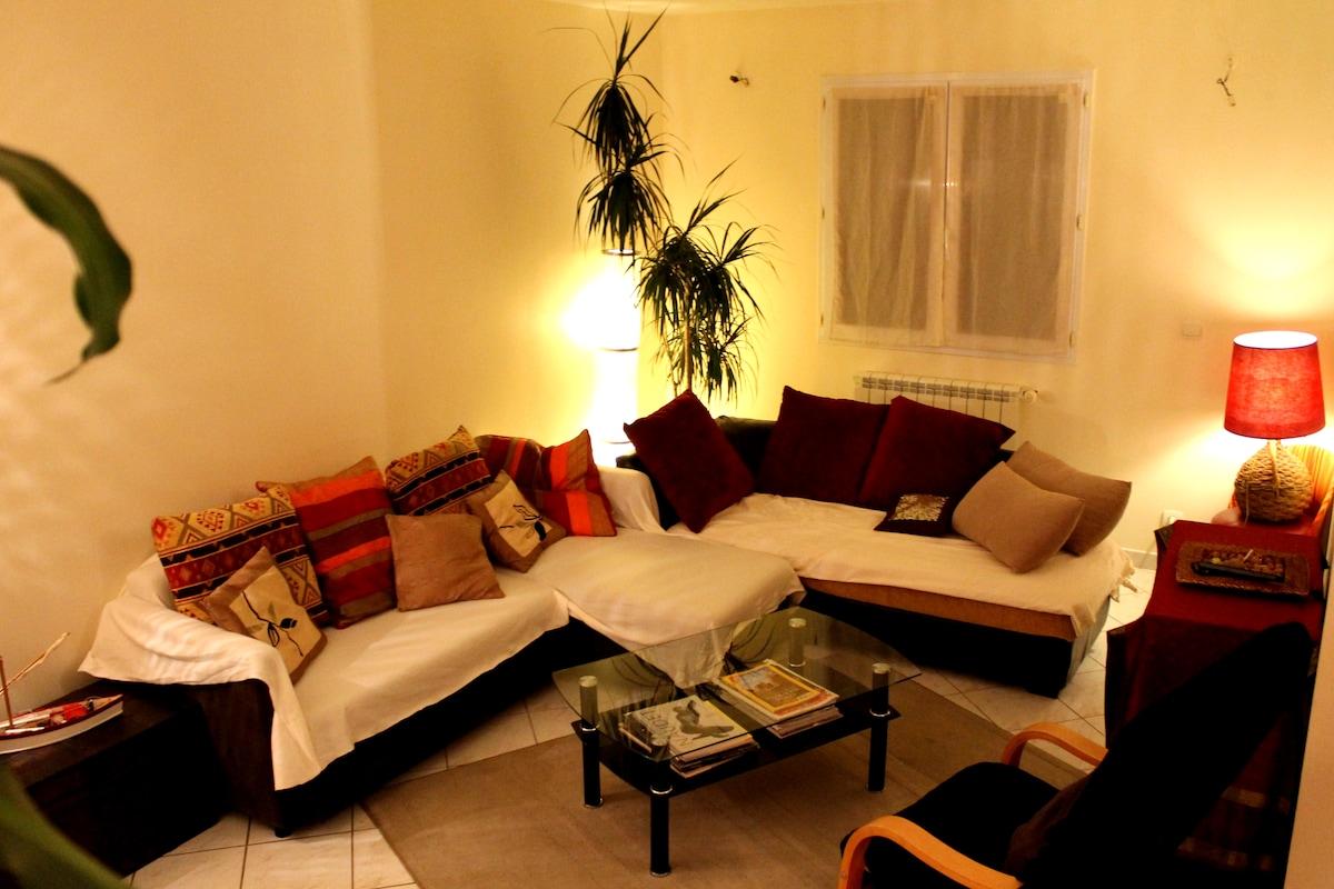 Appartement lumineux à Gigean