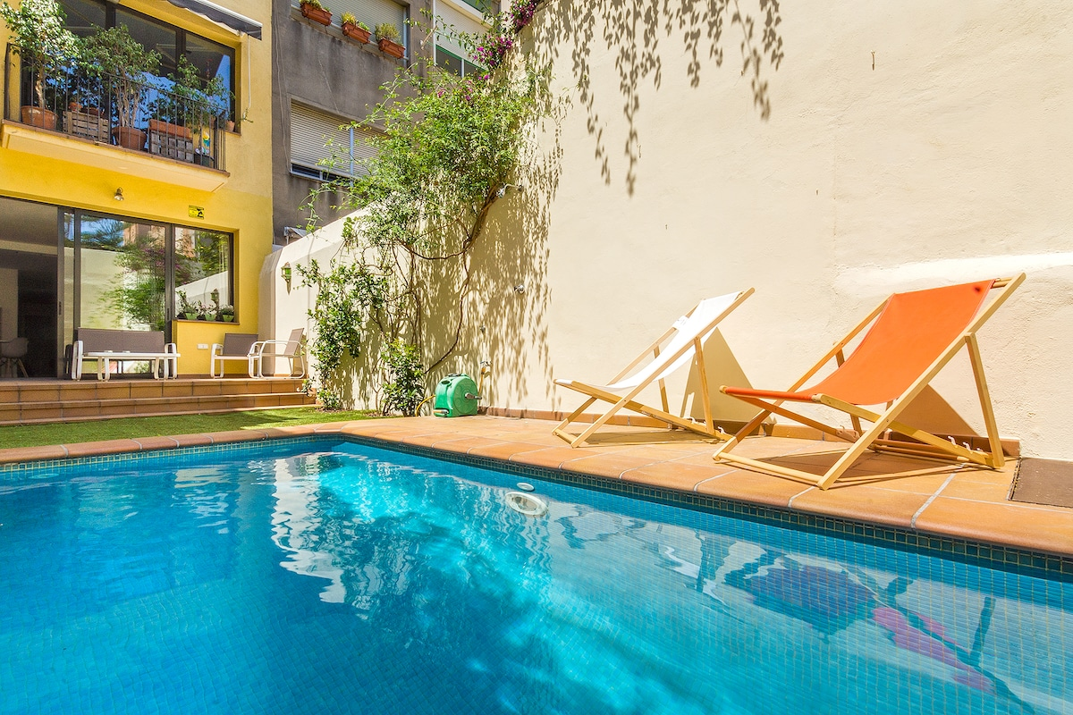 Barcelona Oasis with Private Pool