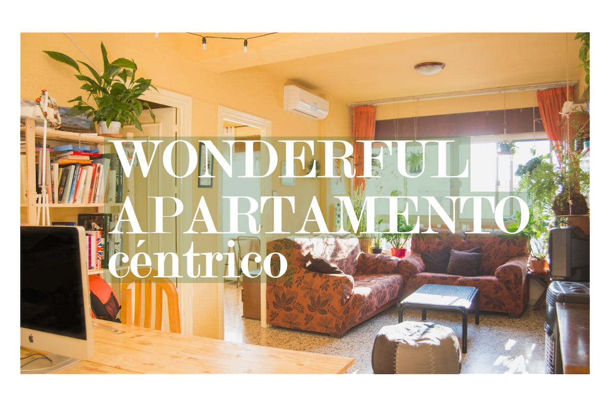 WONDERFUL APARTAMENTO CÉNTRICO