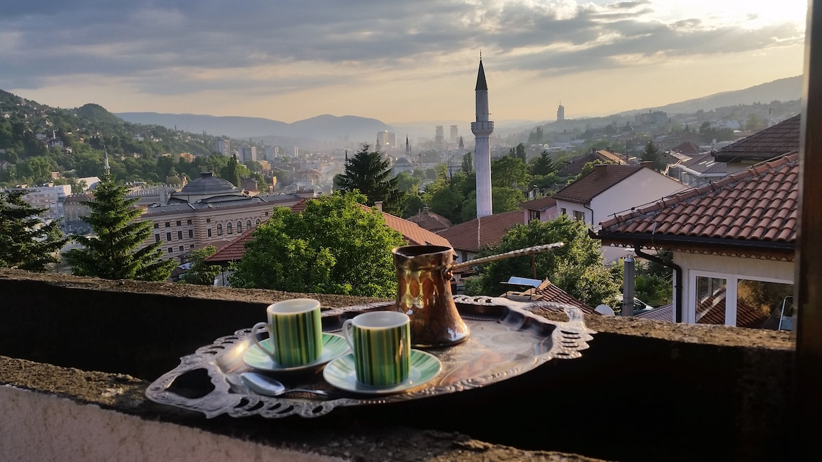 Sarajevo - Best view in Old Town
