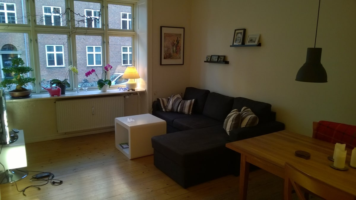 3 roomed app. near Zoo and station