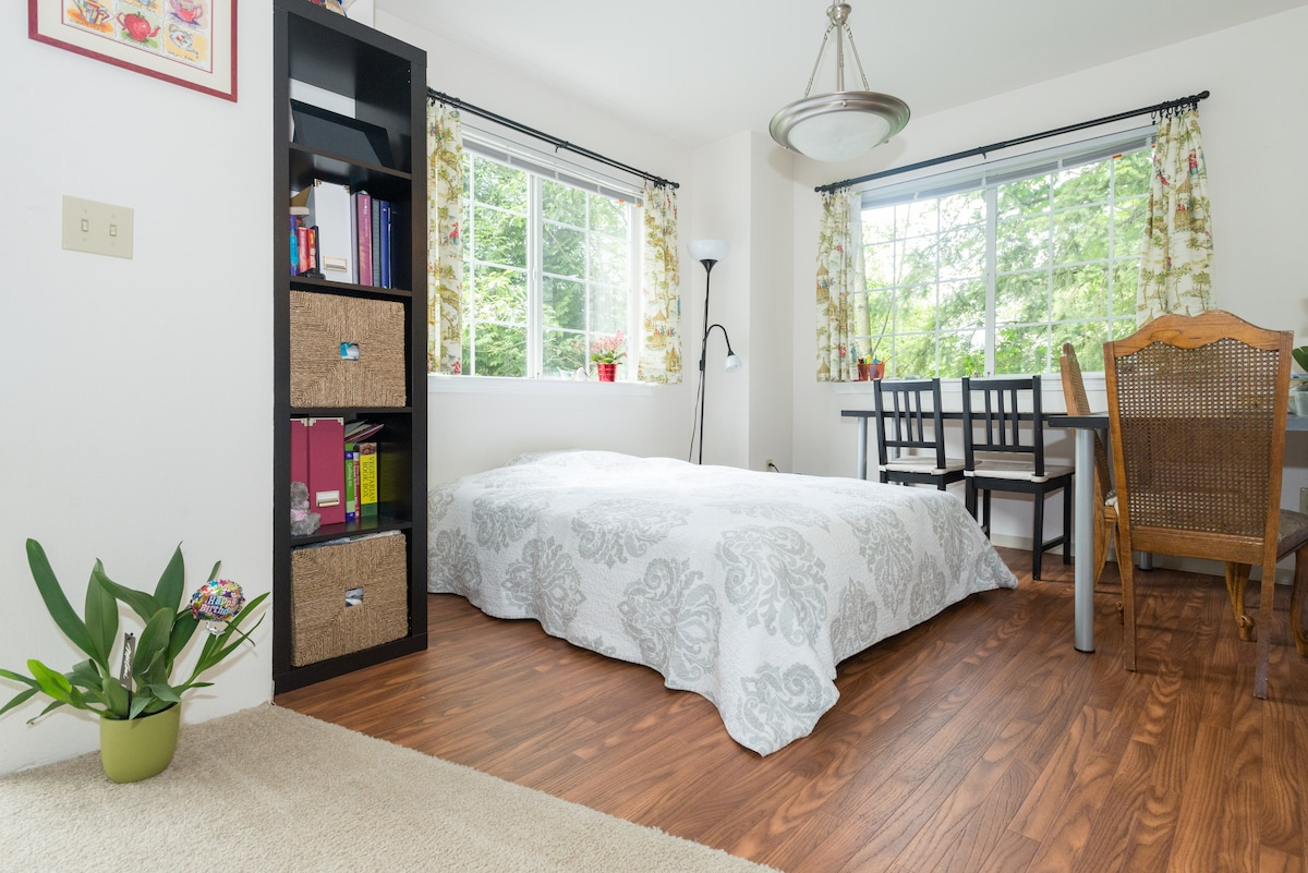 Cozy apartment 8 mins to Microsoft