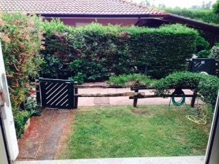 Appartamento con piccolo giardino