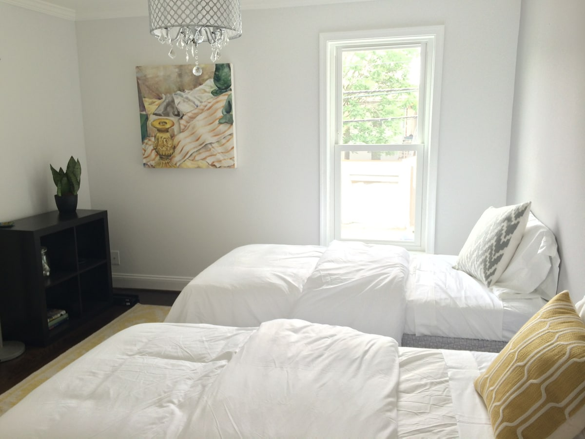 Charming Newly Renovated Bed & Bath