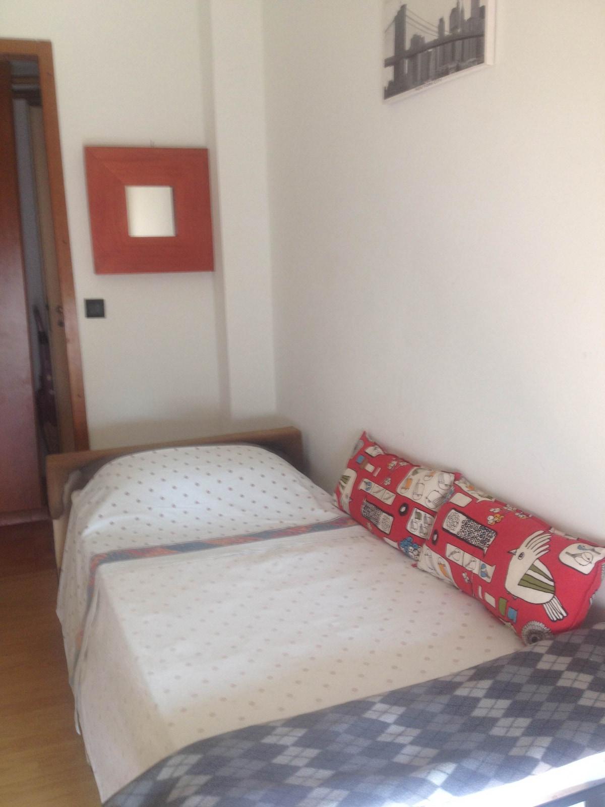 single room 25 minutes rome termini