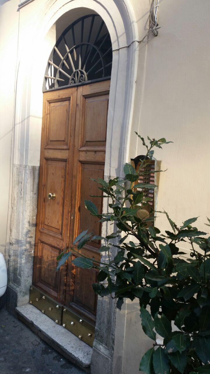 Apt. in Trastevere for Cat lover.
