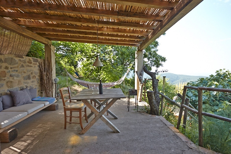 La Quercia, an eco retreat w/ views
