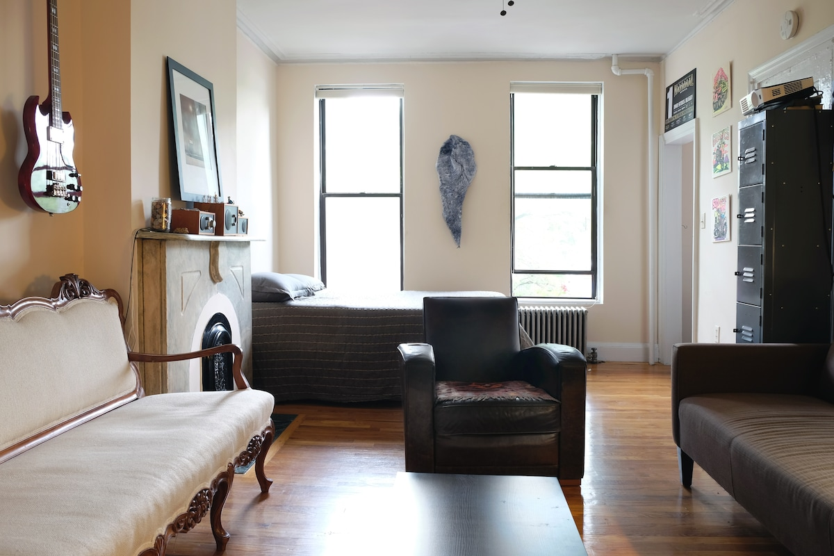 Quiet 1BR on the Park with a View!