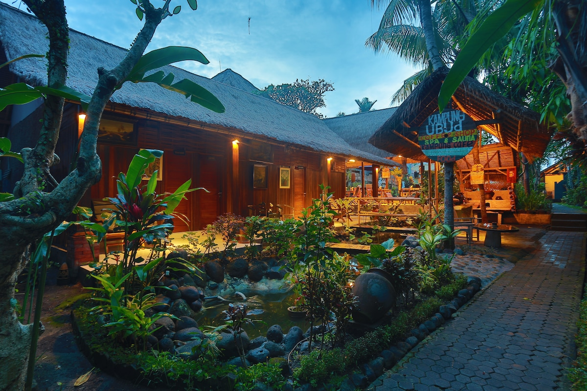 a Room of balinese traditional