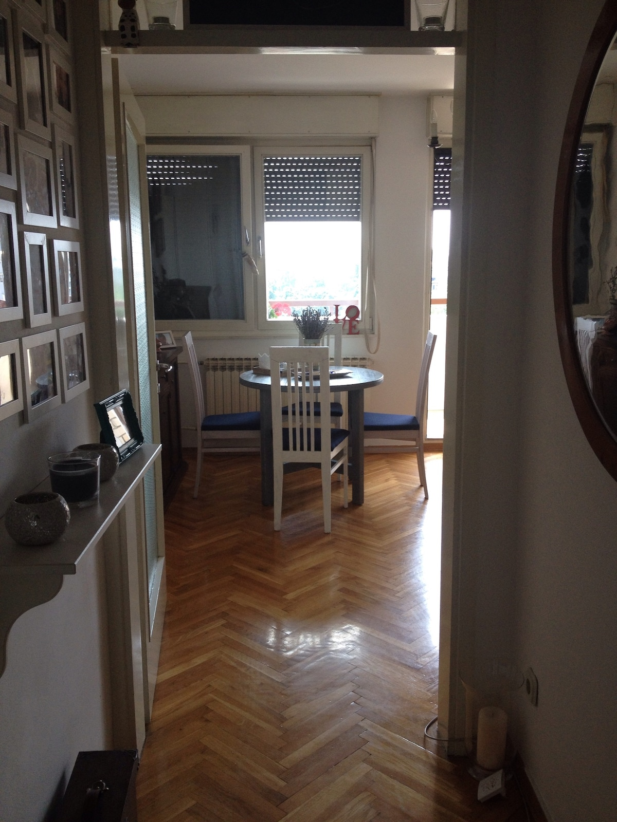 Charming one room apt in Zagreb