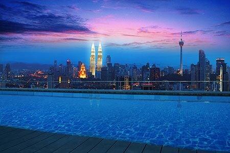 Rooftop Infinity Pool+KL View! #4