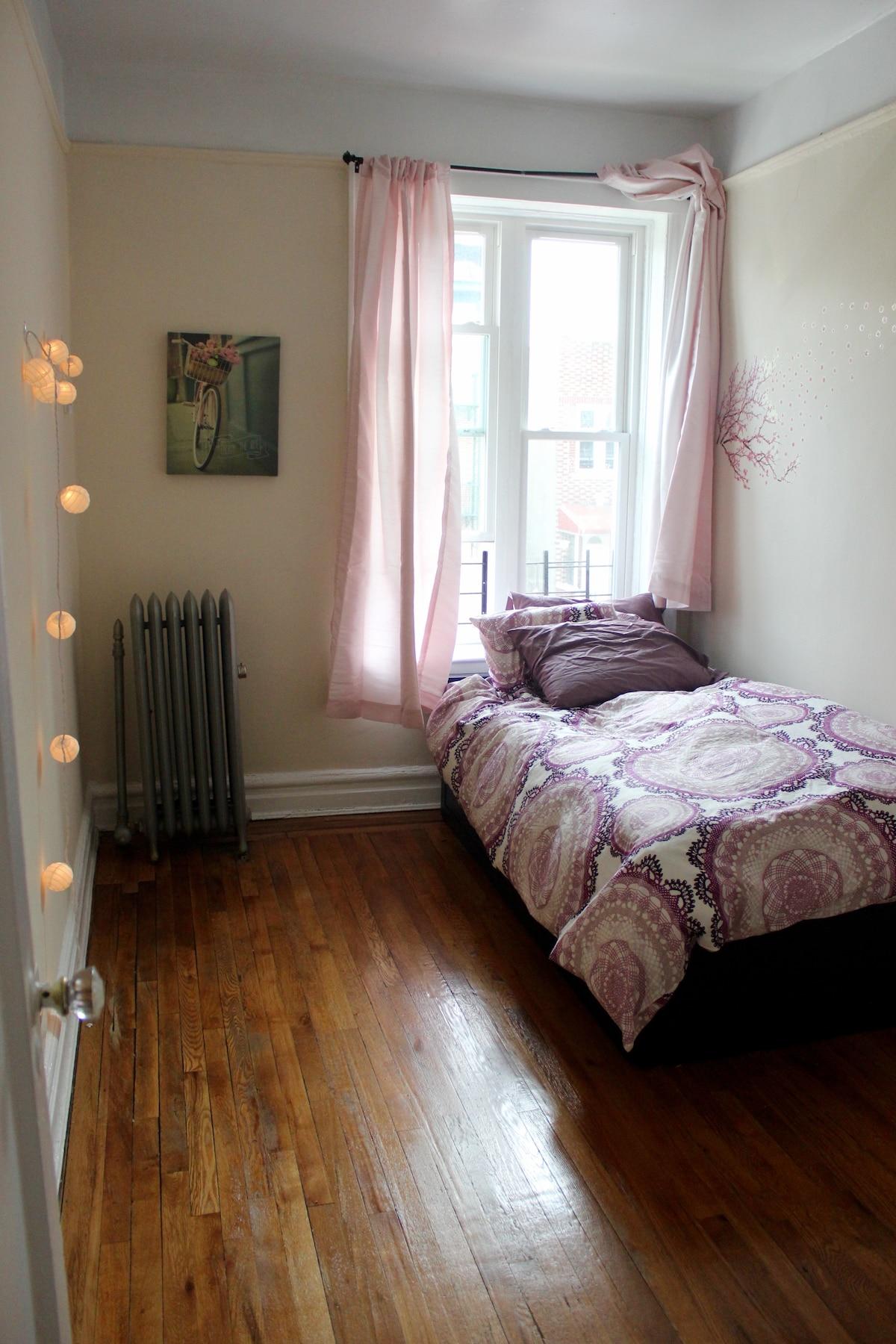 Private, Bright Room In Lefferts