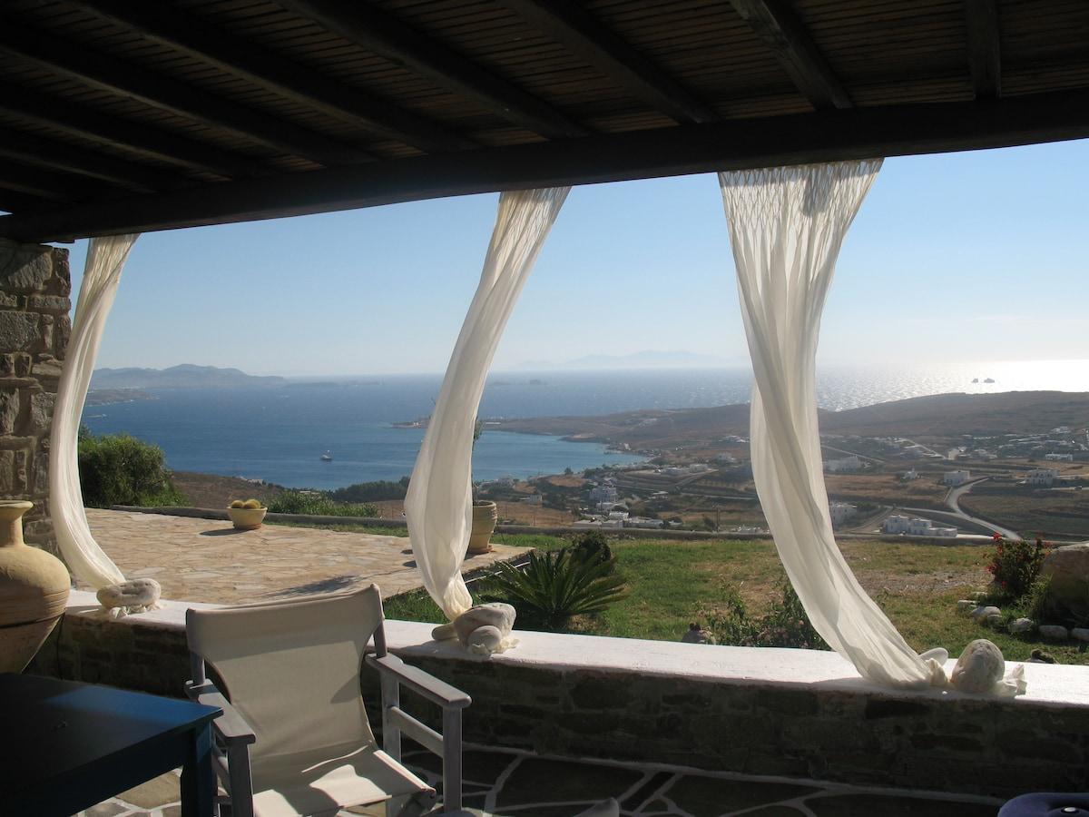 Breathtaking view on Paros!