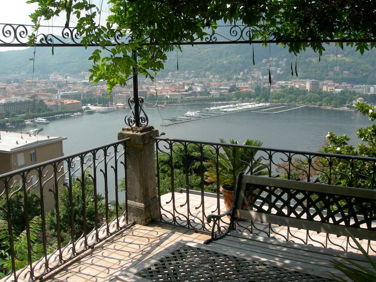 BB Villa Paradiso: Magnificent view