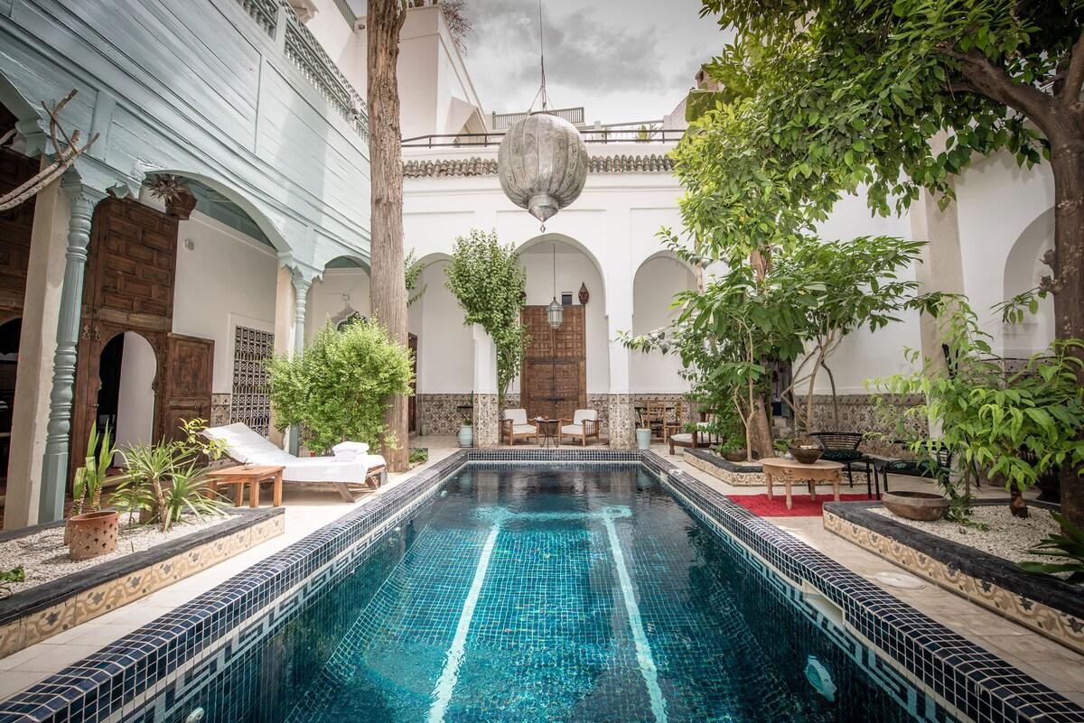 Typical Riad & Pool Marrakech