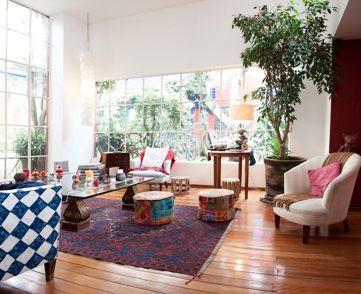 Juan O'Gorman House - Studio,
