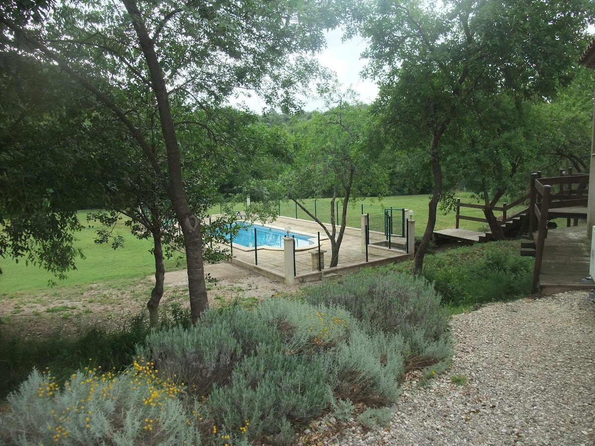 Villa by foothills of the Cévennes