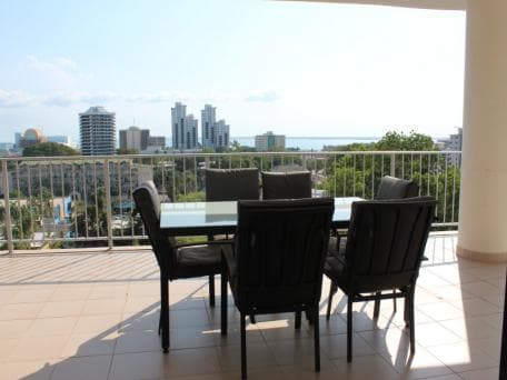 Room with sweeping views in CBD