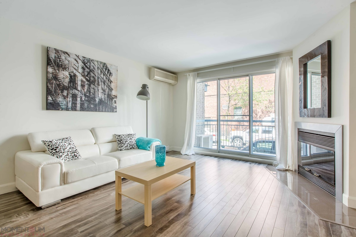STYLE AND CHARM IN THE HEART OF MTL