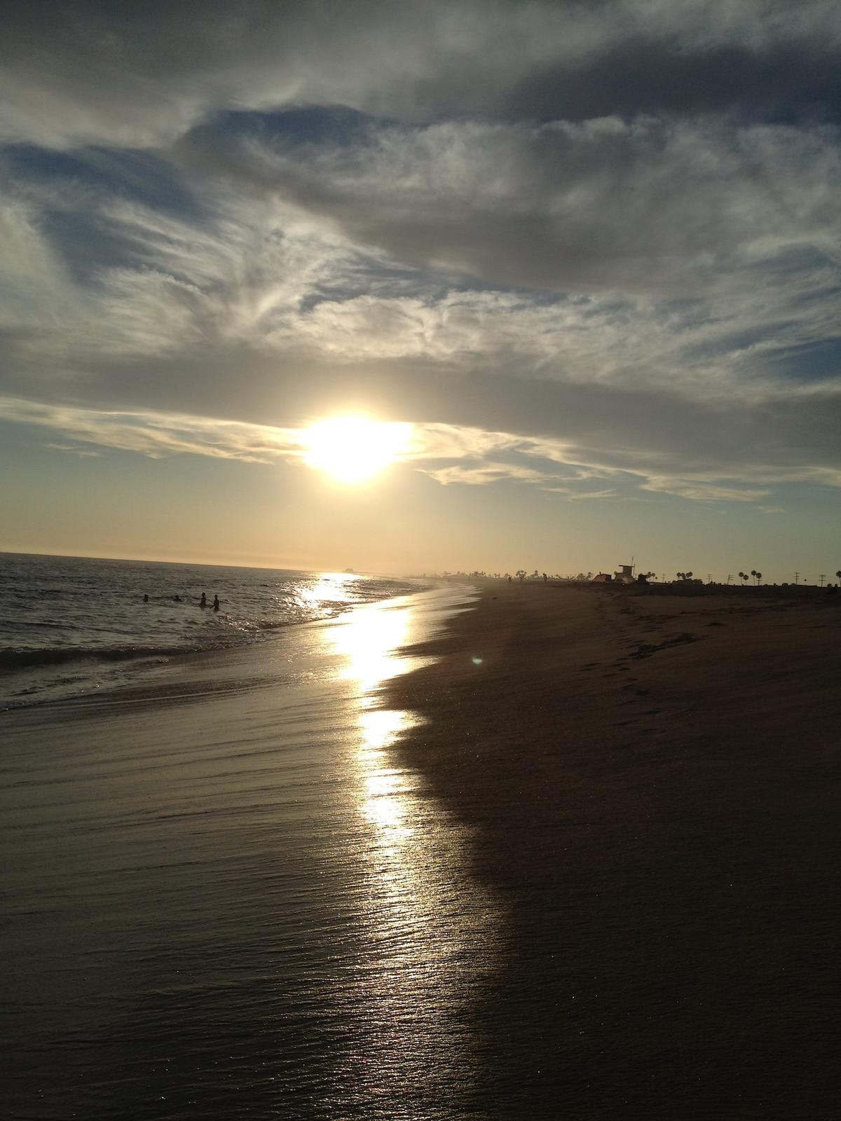 sunset newport beach